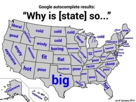 23张地图带你深刻了解现代美国!