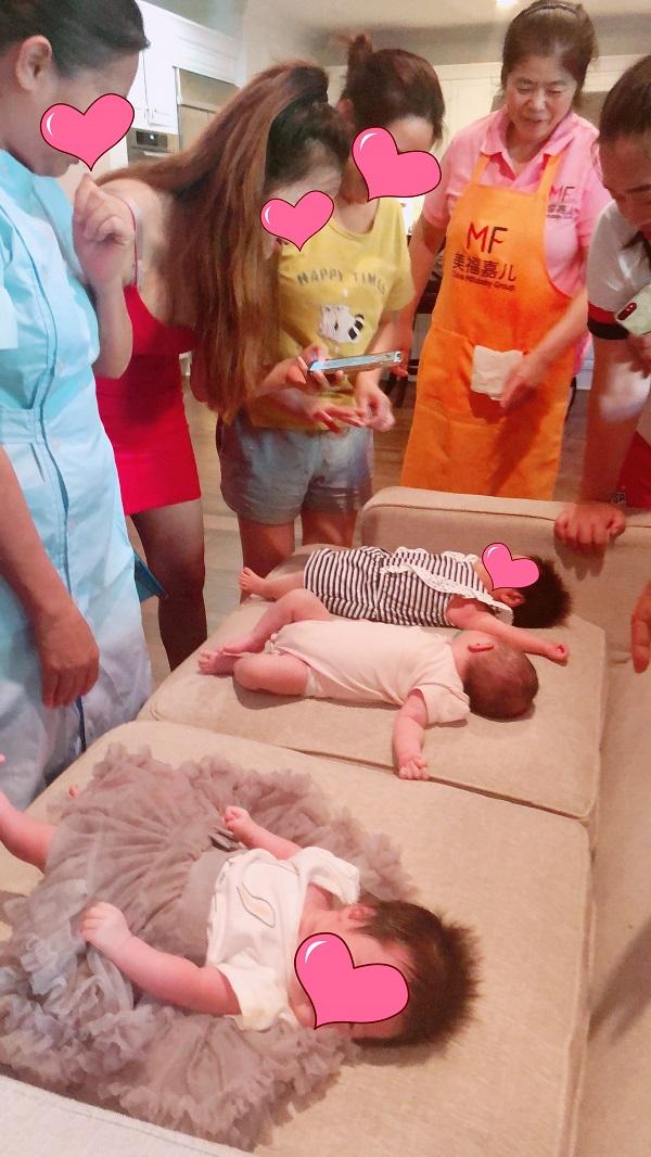 三个宝宝的满月趴,在美福嘉儿为赴美生子画上完美句号(多图)