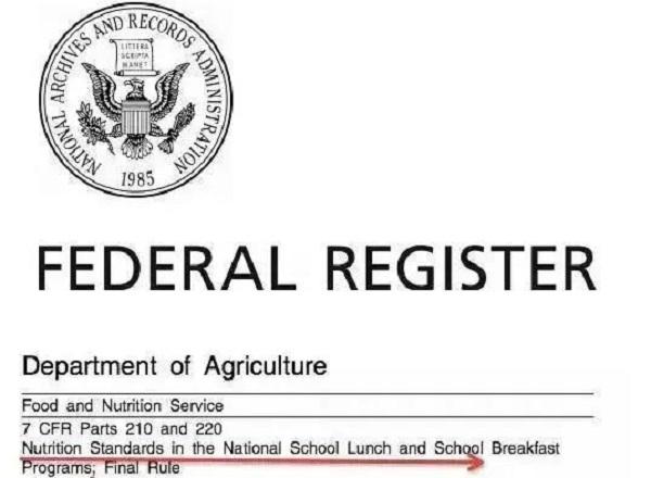 美国学校饮食