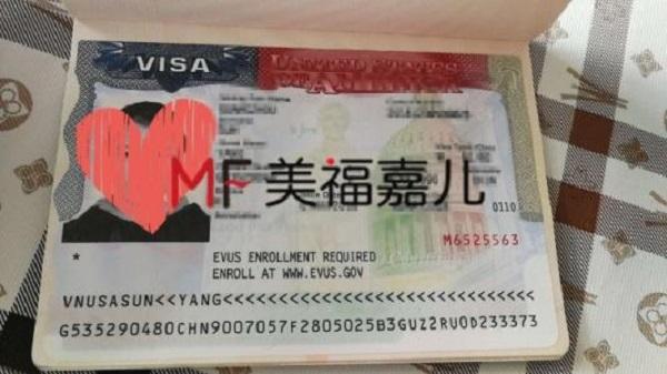 赴美生子签证申请