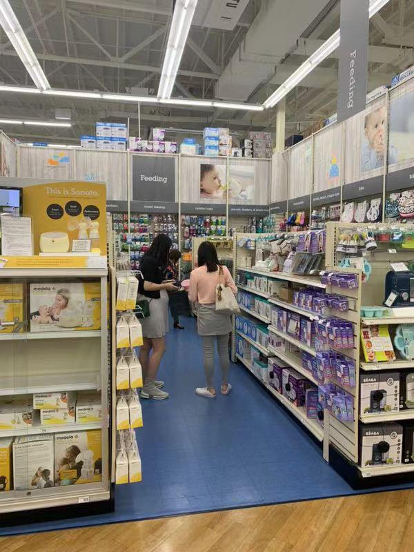 赴美生子母婴用品购物清单